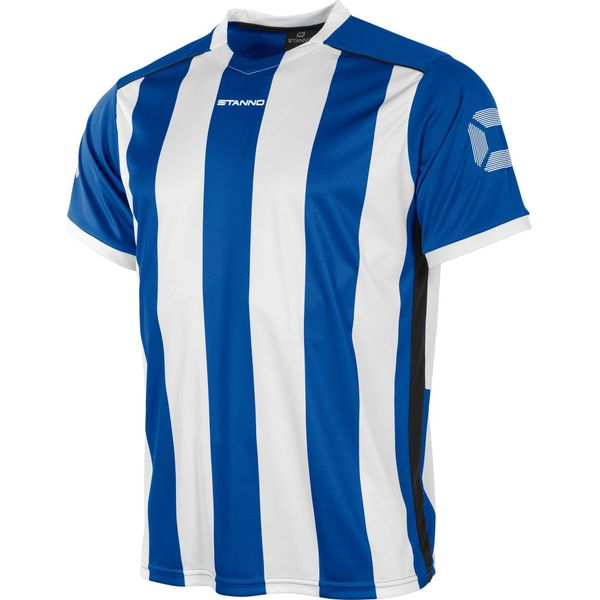 Stanno Brighton Shirt Korte Mouw - Royal / Wit