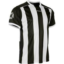 Voorvertoning: Stanno Brighton Shirt Korte Mouw Kinderen - Zwart / Wit