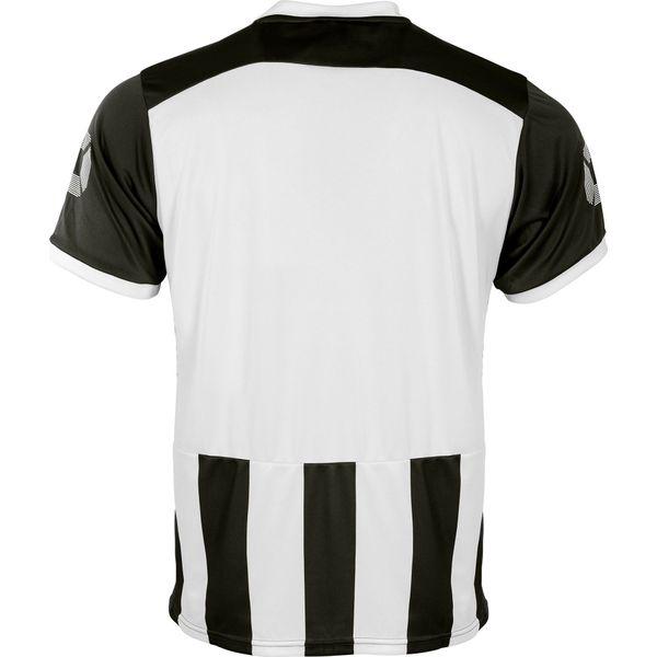 Stanno Brighton Shirt Korte Mouw Kinderen - Zwart / Wit