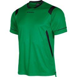 Voorvertoning: Stanno Arezzo Shirt Korte Mouw Kinderen - Groen / Zwart