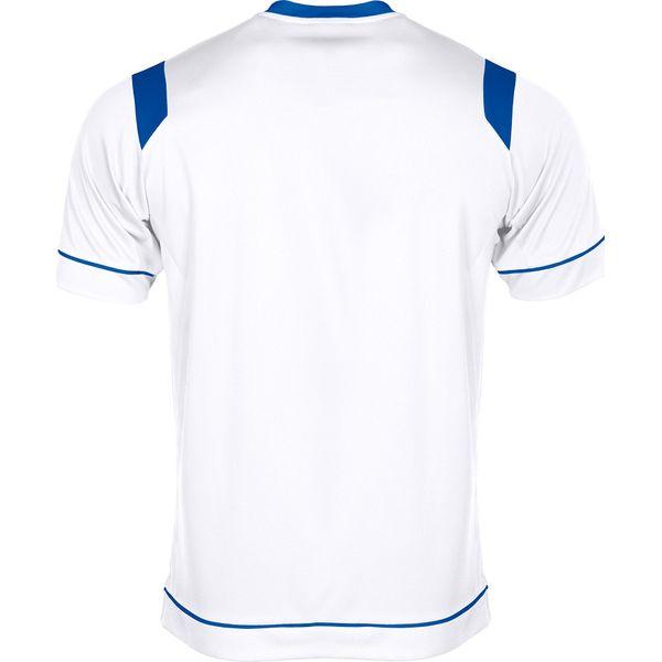 Stanno Arezzo Shirt Korte Mouw Kinderen - Wit / Royal