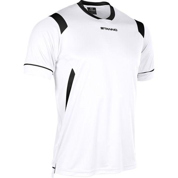 Stanno Arezzo Shirt Korte Mouw Kinderen - Wit / Zwart