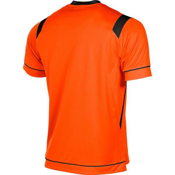 Stanno Arezzo Shirt Korte Mouw Kinderen - Oranje / Zwart