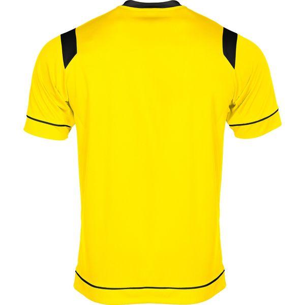 Stanno Arezzo Shirt Korte Mouw Kinderen - Geel / Zwart
