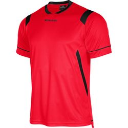 Voorvertoning: Stanno Arezzo Shirt Korte Mouw Kinderen - Rood / Zwart