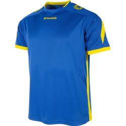 Stanno Drive Shirt Korte Mouw - Royal / Geel