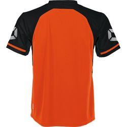 Voorvertoning: Stanno Liga Shirt Korte Mouw - Shocking Orange / Zwart