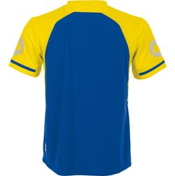 Voorvertoning: Stanno Liga Shirt Korte Mouw - Royal / Geel
