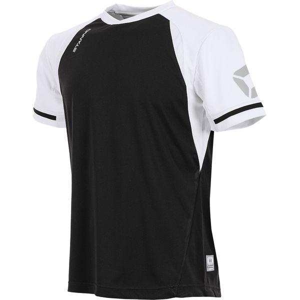 Stanno Liga Shirt Korte Mouw Heren - Zwart / Wit