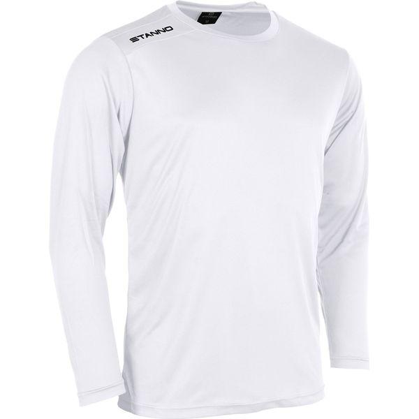 Stanno Field Voetbalshirt Lange Mouw - Wit