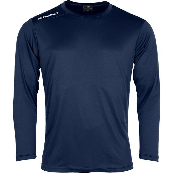 Stanno Field Voetbalshirt Lange Mouw Kinderen - Marine