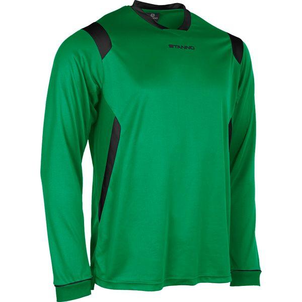 Stanno Arezzo Voetbalshirt Lange Mouw - Groen / Zwart