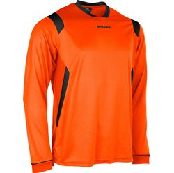 Voorvertoning: Stanno Arezzo Voetbalshirt Lange Mouw Kinderen - Oranje / Zwart