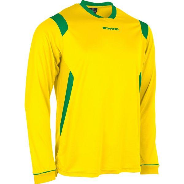 Stanno Arezzo Voetbalshirt Lange Mouw Kinderen - Geel / Groen