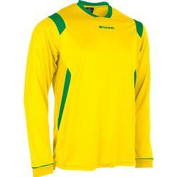 Voorvertoning: Stanno Arezzo Voetbalshirt Lange Mouw Kinderen - Geel / Groen