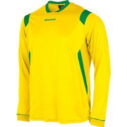 Stanno Arezzo Voetbalshirt Lange Mouw Heren - Geel / Groen