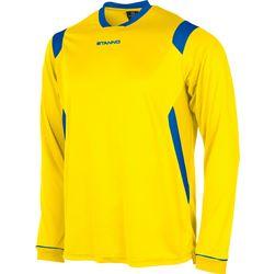 Voorvertoning: Stanno Arezzo Voetbalshirt Lange Mouw Kinderen - Geel / Royal