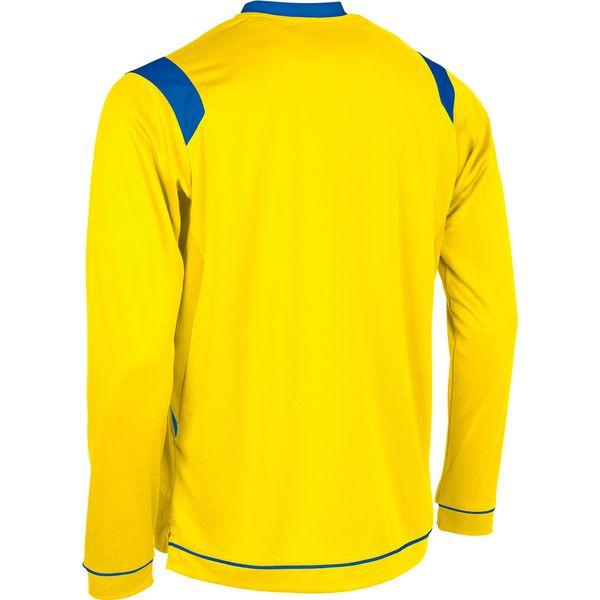 Stanno Arezzo Voetbalshirt Lange Mouw Kinderen - Geel / Royal