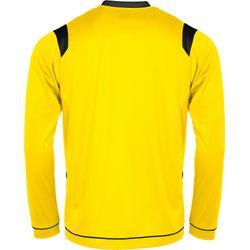 Voorvertoning: Stanno Arezzo Voetbalshirt Lange Mouw - Geel / Zwart