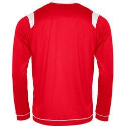 Voorvertoning: Stanno Arezzo Voetbalshirt Lange Mouw Kinderen - Rood / Wit