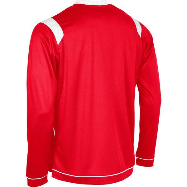 Stanno Arezzo Voetbalshirt Lange Mouw Kinderen - Rood / Wit