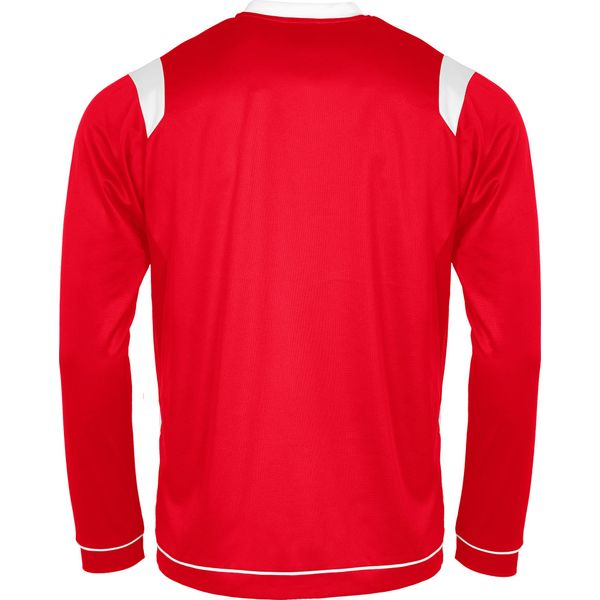 Stanno Arezzo Voetbalshirt Lange Mouw - Rood / Wit