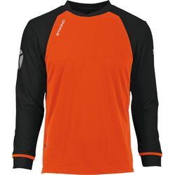 Voorvertoning: Stanno Liga Voetbalshirt Lange Mouw Kinderen - Fluo Oranje / Zwart
