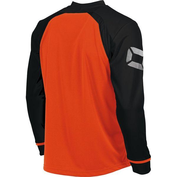 Stanno Liga Voetbalshirt Lange Mouw Kinderen - Fluo Oranje / Zwart