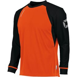 Stanno Liga Voetbalshirt Lange Mouw Heren - Fluo Oranje / Zwart