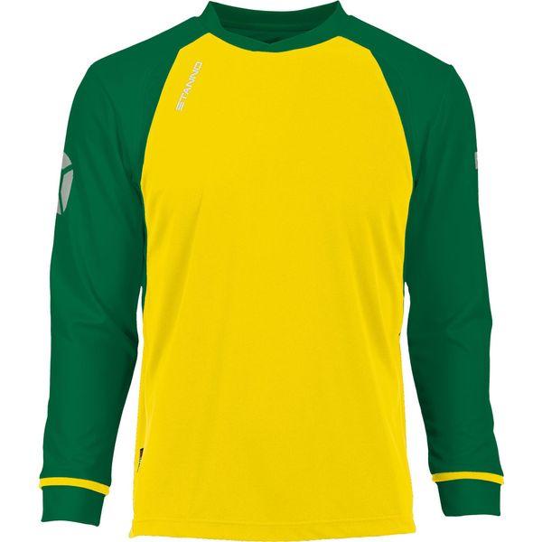 Stanno Liga Voetbalshirt Lange Mouw - Geel / Groen