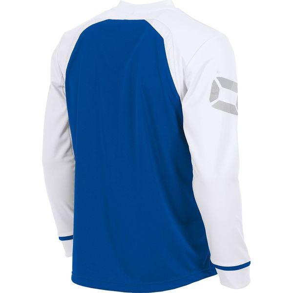 Stanno Liga Voetbalshirt Lange Mouw Kinderen - Royal / Wit