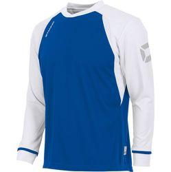 Voorvertoning: Stanno Liga Voetbalshirt Lange Mouw - Royal / Wit