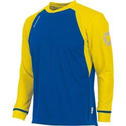 Stanno Liga Voetbalshirt Lange Mouw Heren - Royal / Geel