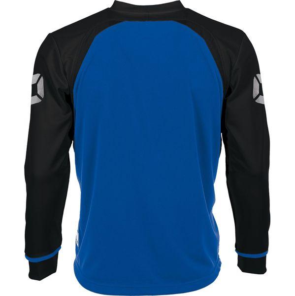 Stanno Liga Voetbalshirt Lange Mouw - Royal / Zwart