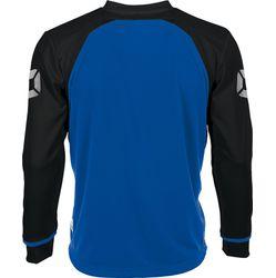 Voorvertoning: Stanno Liga Voetbalshirt Lange Mouw - Royal / Zwart