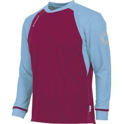 Voorvertoning: Stanno Liga Voetbalshirt Lange Mouw - Bordeaux / Hemelsblauw