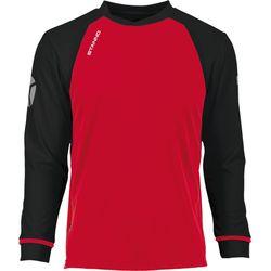 Voorvertoning: Stanno Liga Voetbalshirt Lange Mouw - Rood / Zwart