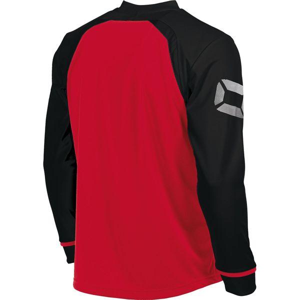 Stanno Liga Voetbalshirt Lange Mouw - Rood / Zwart