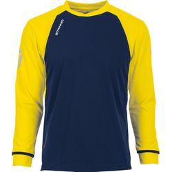 Voorvertoning: Stanno Liga Voetbalshirt Lange Mouw Kinderen - Marine / Geel