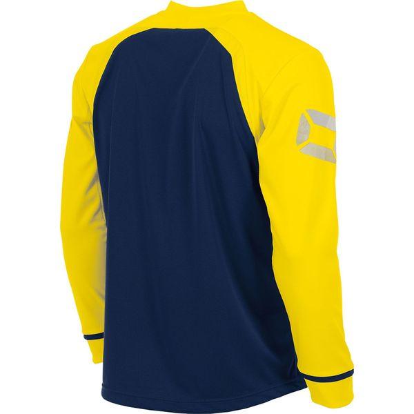 Stanno Liga Voetbalshirt Lange Mouw Kinderen - Marine / Geel