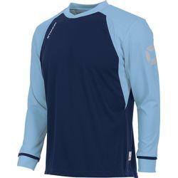 Voorvertoning: Stanno Liga Voetbalshirt Lange Mouw Kinderen - Marine / Hemelsblauw