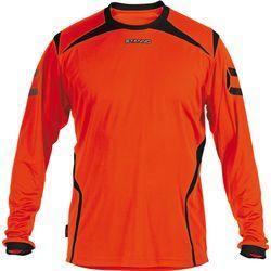 Stanno Torino Voetbalshirt Lange Mouw Heren - Fluo Oranje / Zwart