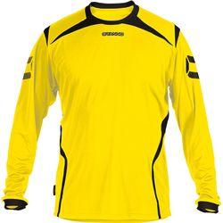 Stanno Torino Voetbalshirt Lange Mouw Kinderen - Geel / Zwart