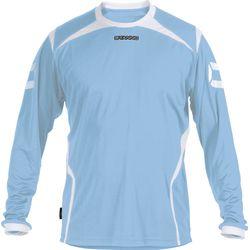 Stanno Torino Voetbalshirt Lange Mouw Heren - Lichtblauw / Wit