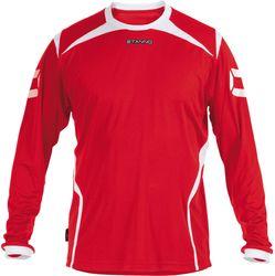 Stanno Torino Voetbalshirt Lange Mouw Kinderen - Rood / Wit