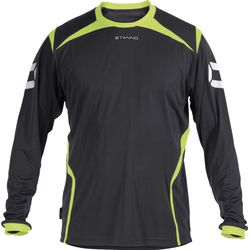 Stanno Torino Maillot À Manches Longues Hommes - Anthracite / Jaune Fluo