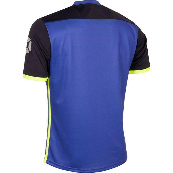Stanno Pulse Shirt Korte Mouw Heren - Royal / Zwart
