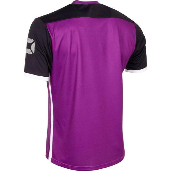 Stanno Pulse Shirt Korte Mouw - Paars / Zwart