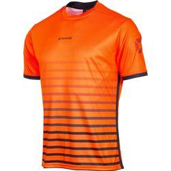 Voorvertoning: Stanno Fusion Shirt Korte Mouw Kinderen - Fluo Oranje / Zwart