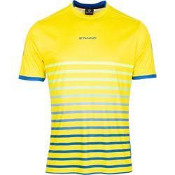 Voorvertoning: Stanno Fusion Shirt Korte Mouw - Geel / Royal